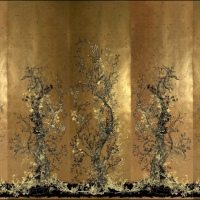 Timourous Beasties: Golden Oriole Wallpaper Panels