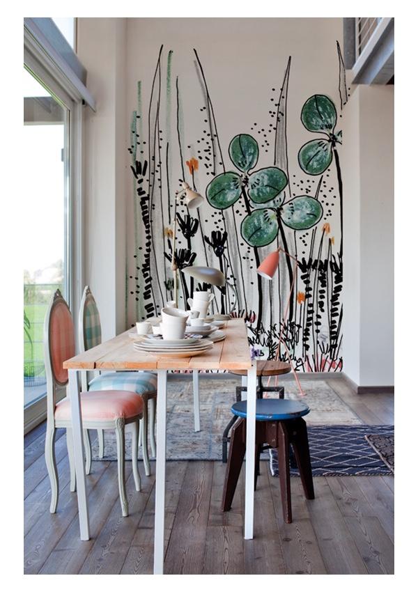 Wall&decò Wallpaper: Gouache 2014