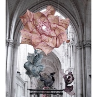 Iris Van Herpen Couture And  Peter Gentenaar Paper Sculpture