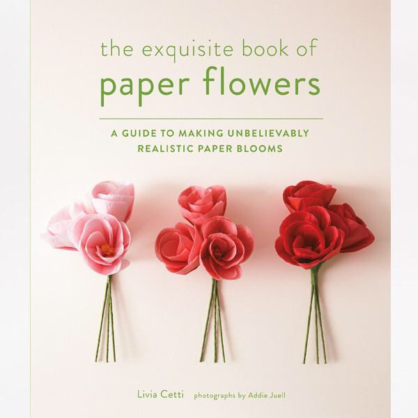 Livia Cetti: The Exquisite Book Of Paper Flowers. Photography by Addie Juell.