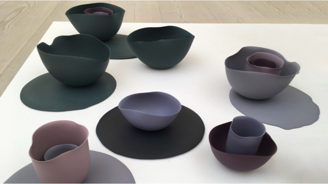 Seo-Yeon Park's Ceramics via Dezeen