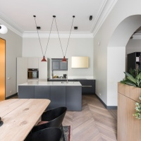 Interior Style: 19th Century Apartment in Vilnius