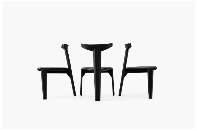 Alquimia Collection Ceniza Chair by Ewe Studio