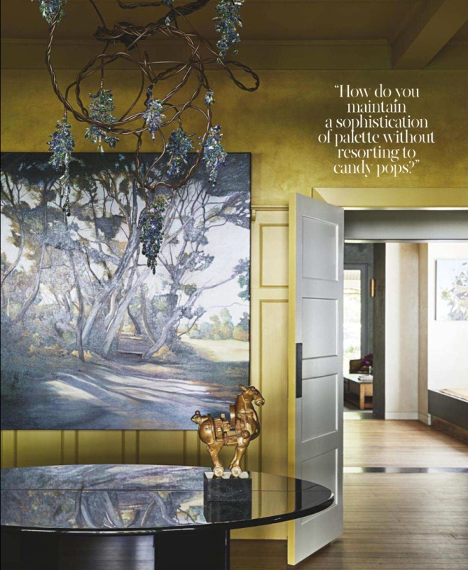 Interior Architecture by Flack Studio featured in Vogue Living (Australia) May/June 2018