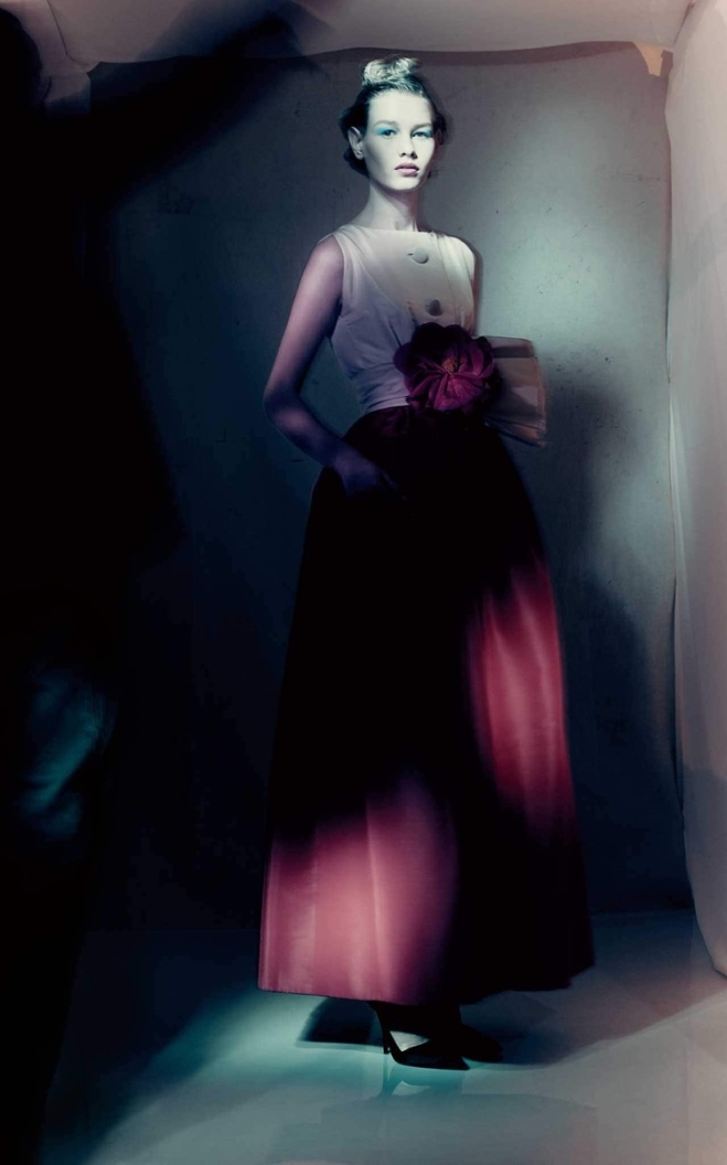 Dior's spring/summer 1959 Haute Couture collection by Yves Saint Laurent CREDIT: © PAOLO ROVERSI