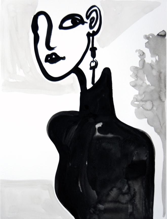 Jocelyn Teng: Inner Beauty Ink and Water on Watercolour Paper All images © Jocelyn Teng