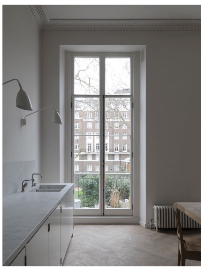 Kitchen Inspiration: Anna Valentine's Home in Marylebone via Remodelista