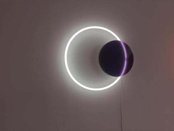 Voie Lights' Hanging, Wall Lamp, Medium / Plum, by Sabine Marcelis