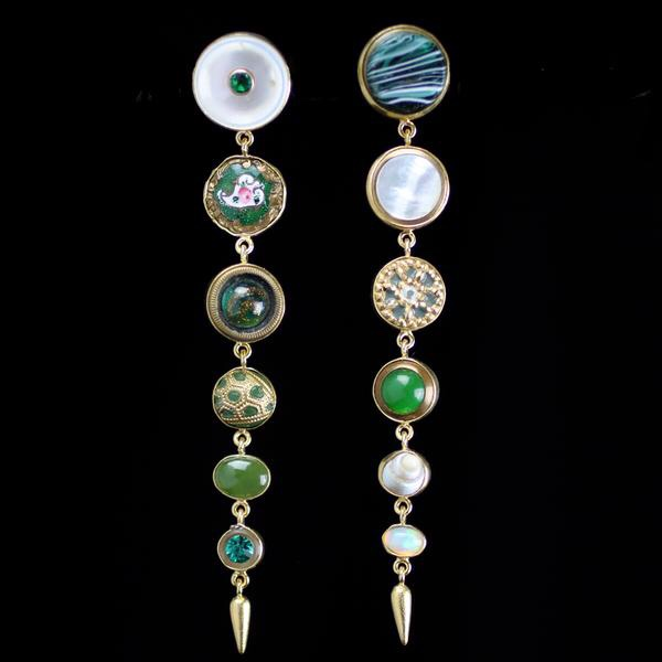 Grainne Morton: Multi Drop Earrings