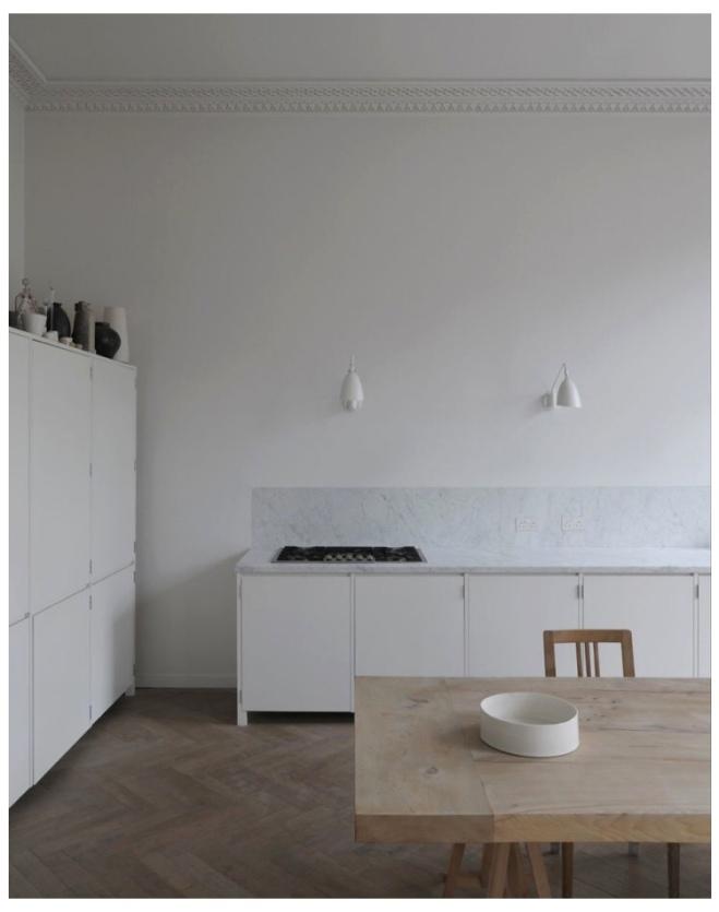 Kitchen Inspiration: Anna Valentine's Home in Marylebone via Remodelista