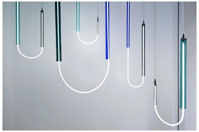 "Sabine Marcelis, Ceiling Lamps Model ""Hanging U"", Rotterdam, 2017"
