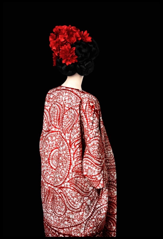 Erik Madigan Heck: Without A Face (Red), 2013