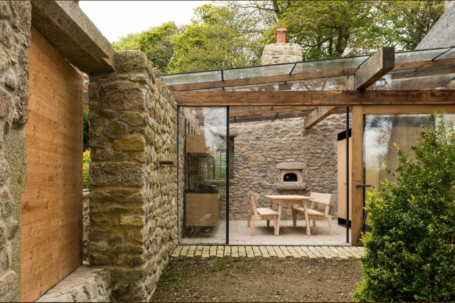Modernised Vicarage Estate, Crowan, Cornwall. For Sale via The Modern House.