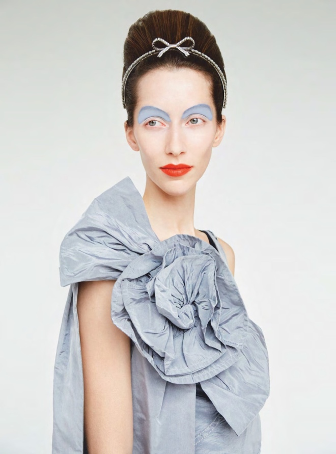 Miu Miu (Dress), Erik Madigan Heck (Photographer) for Harper's Bazaar UK March 2019