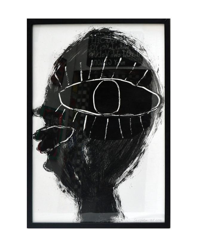 Large Black Head Artist: Stephen Wright