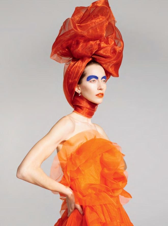 Ermanno Scervino (Dress), Erik Madigan Heck (Photographer) for Harper's Bazaar UK March 2019